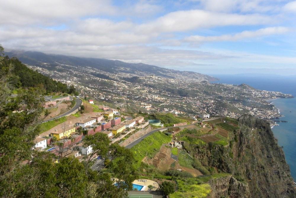 uitkijk over Funchal