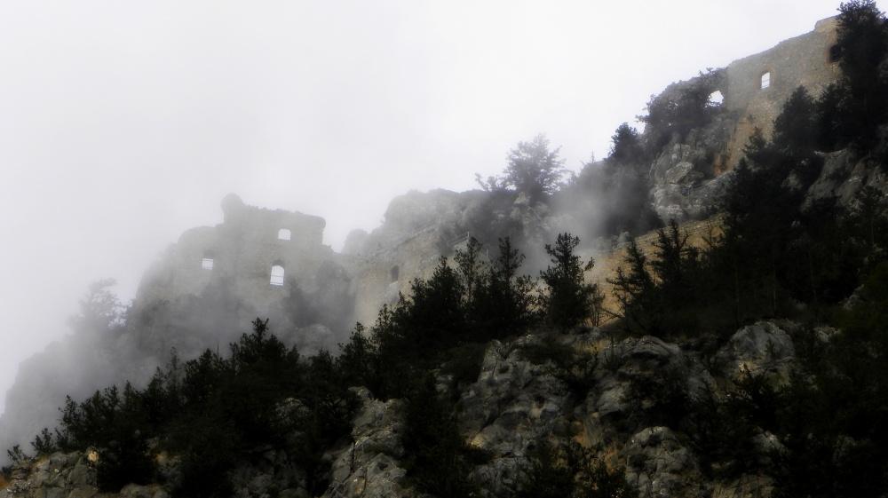 Buffavento in de mist
