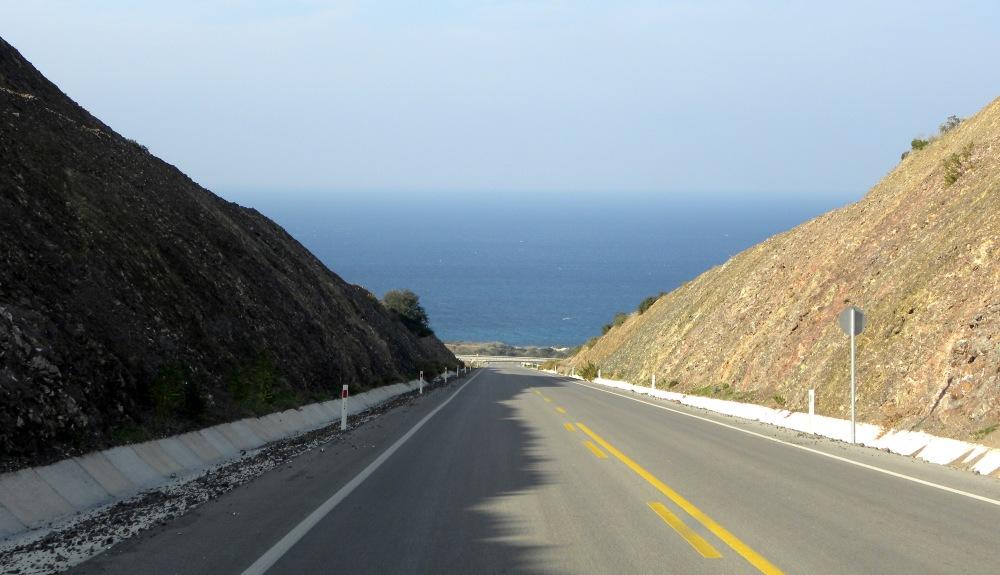 oversteek naar de kust