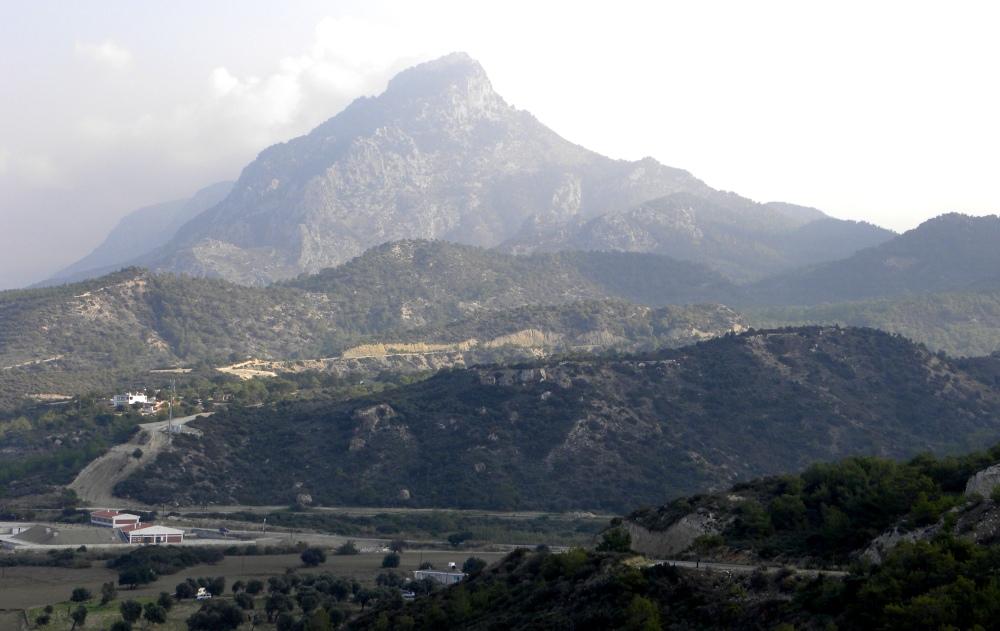 splitsing naar Kyrenia