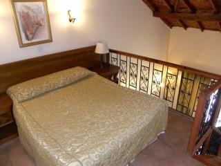 slaapkamer op vide in villa