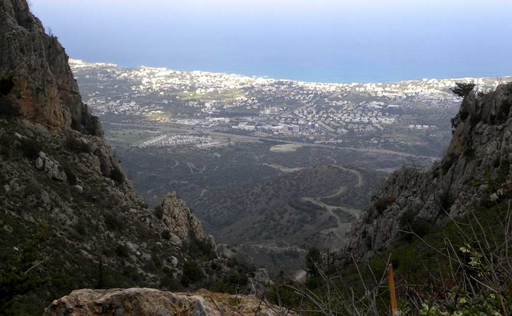 view over Kyrenia