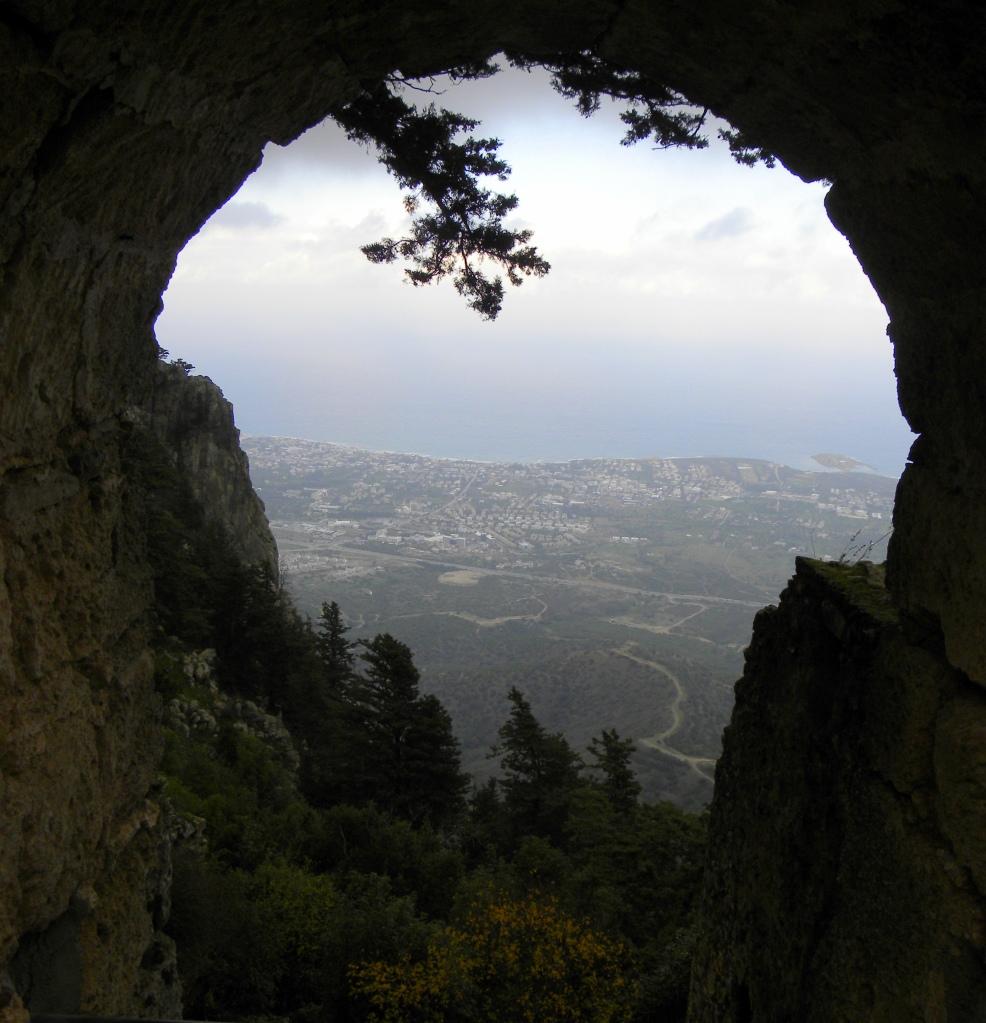 doorkijkje over Kyrenia