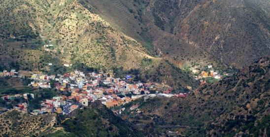 dorpje in de diepte