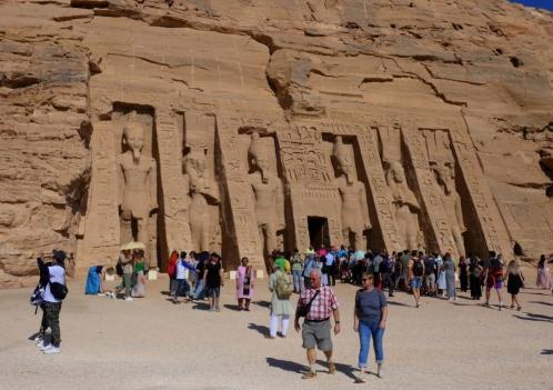 Nefertari tempel in Aboe Simbel
